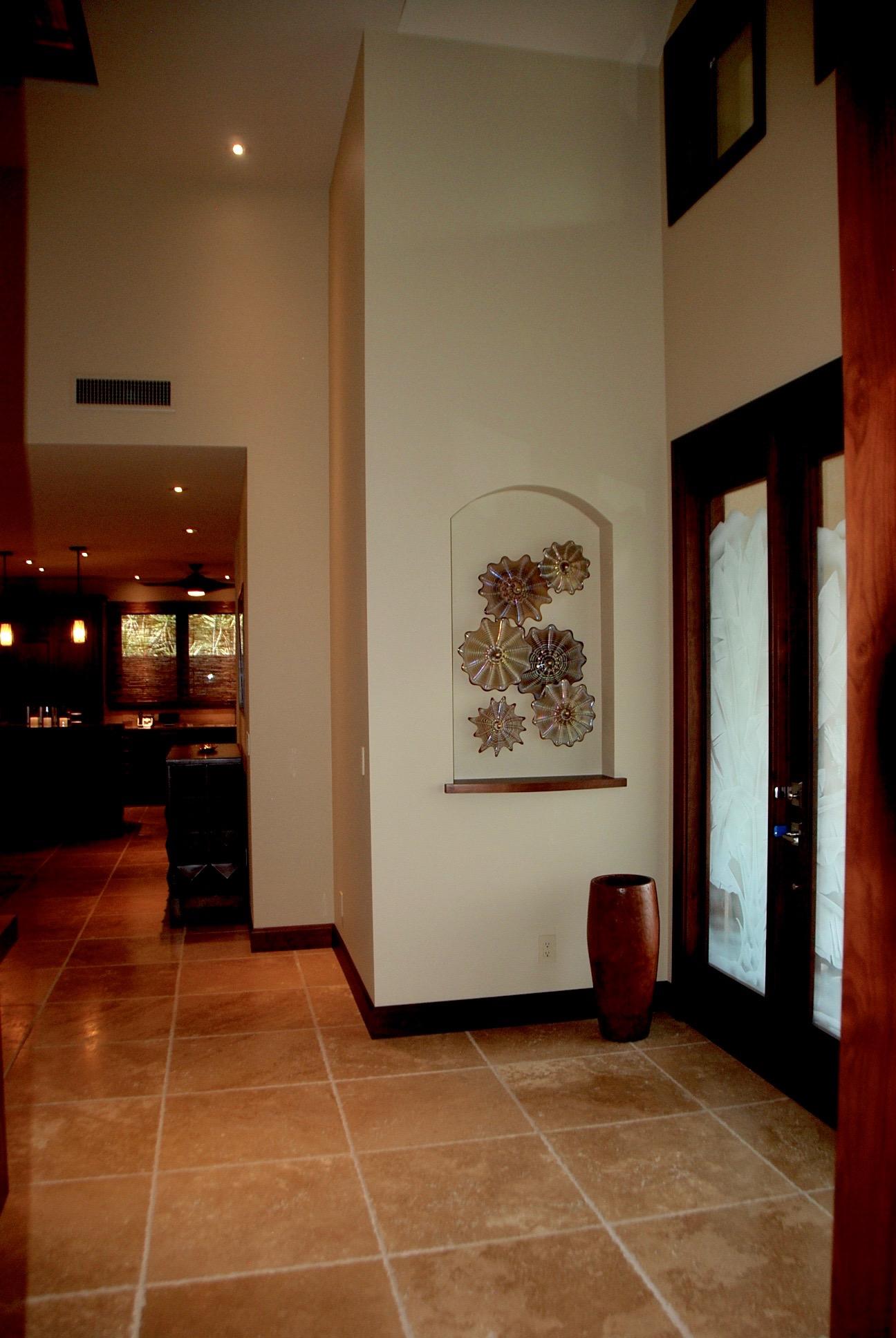 double niche wall splash Kihei,Hi. strini art glass 011.jpg