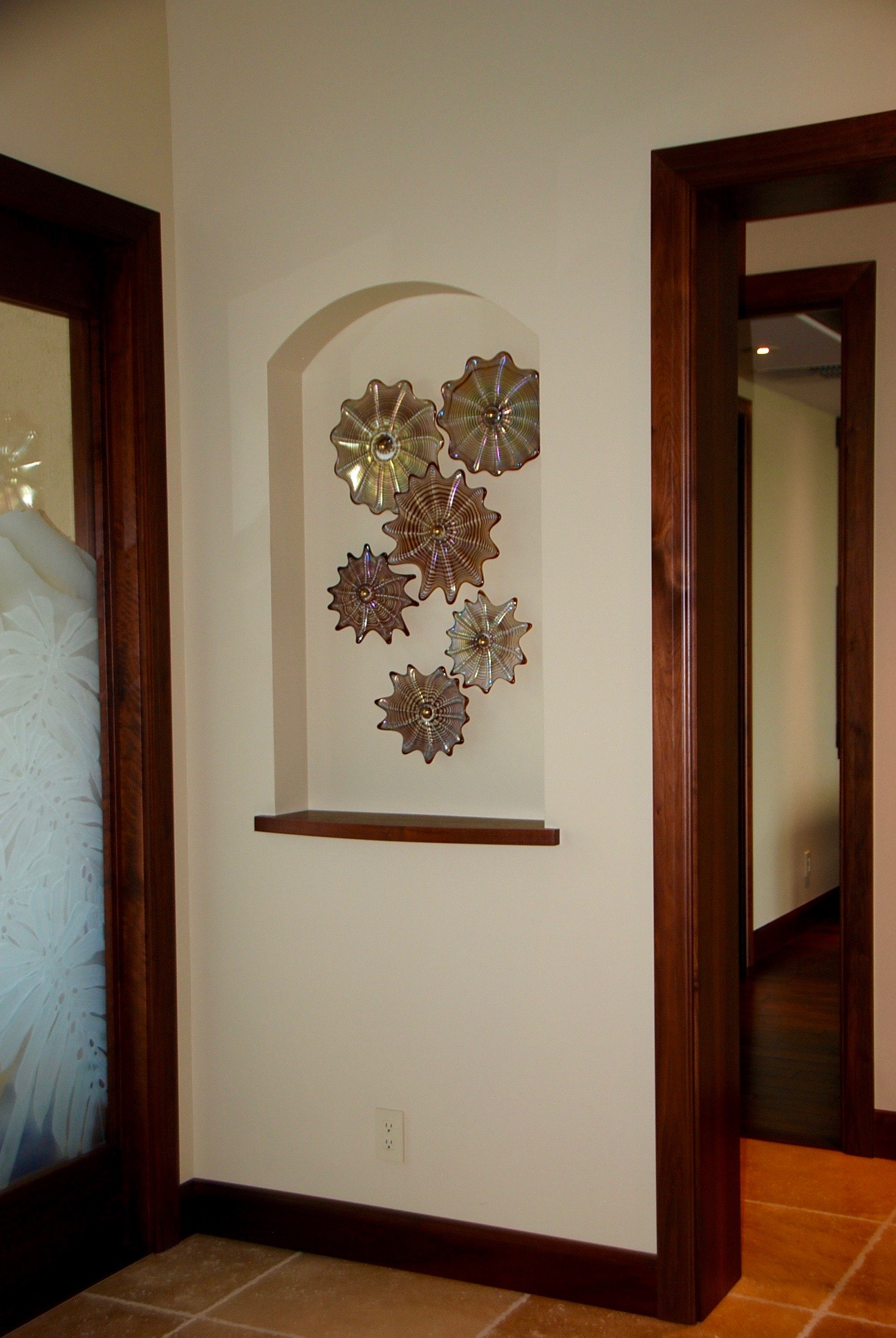 double niche wall splash Kihei,Hi. strini art glass 013.jpg