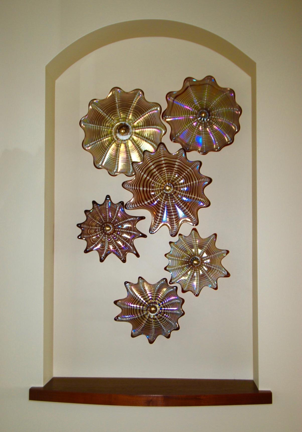 double niche wall splash Kihei,Hi. strini art glass 008.jpg