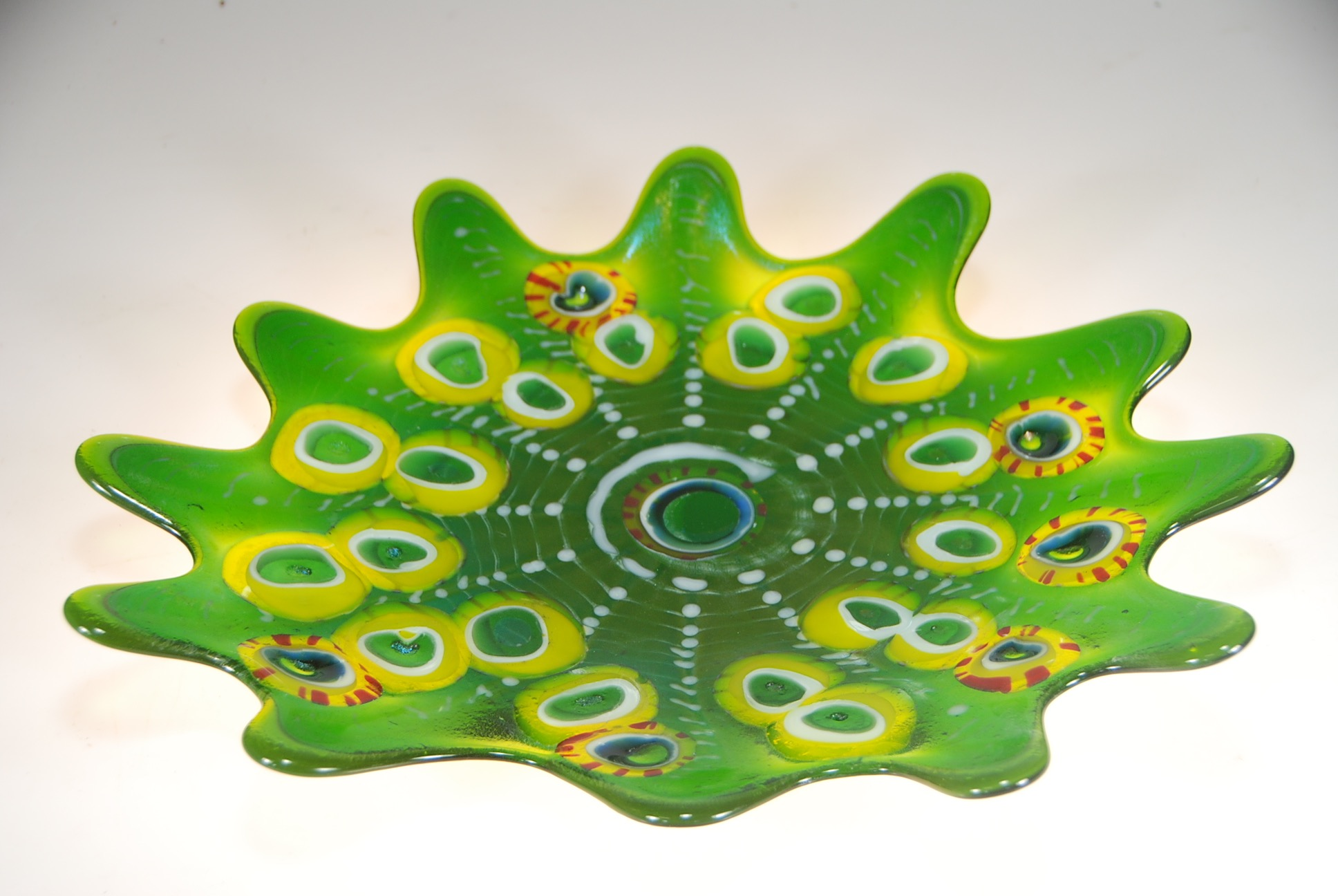 Emerald Splash Dish with Opihi2015artist Rick Strini