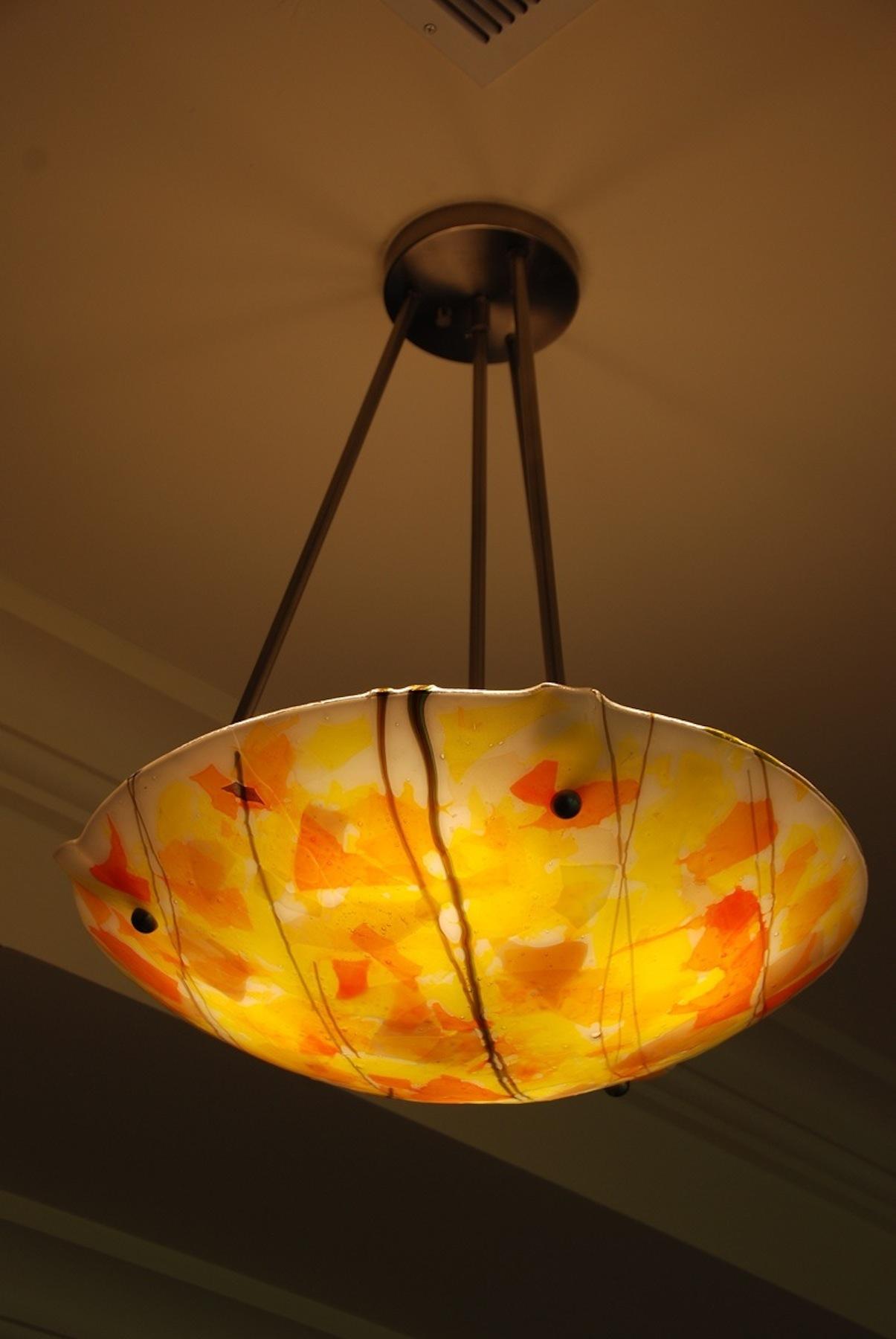#11 Ceiling Lamp confetti dome by artist rick strini copy.jpg