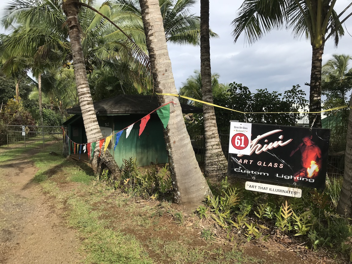 Last Day Maui Open Studios 2018   Strini Art Glass