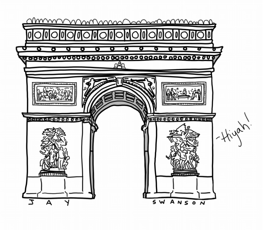 Arc De Triomphe by Kaarins