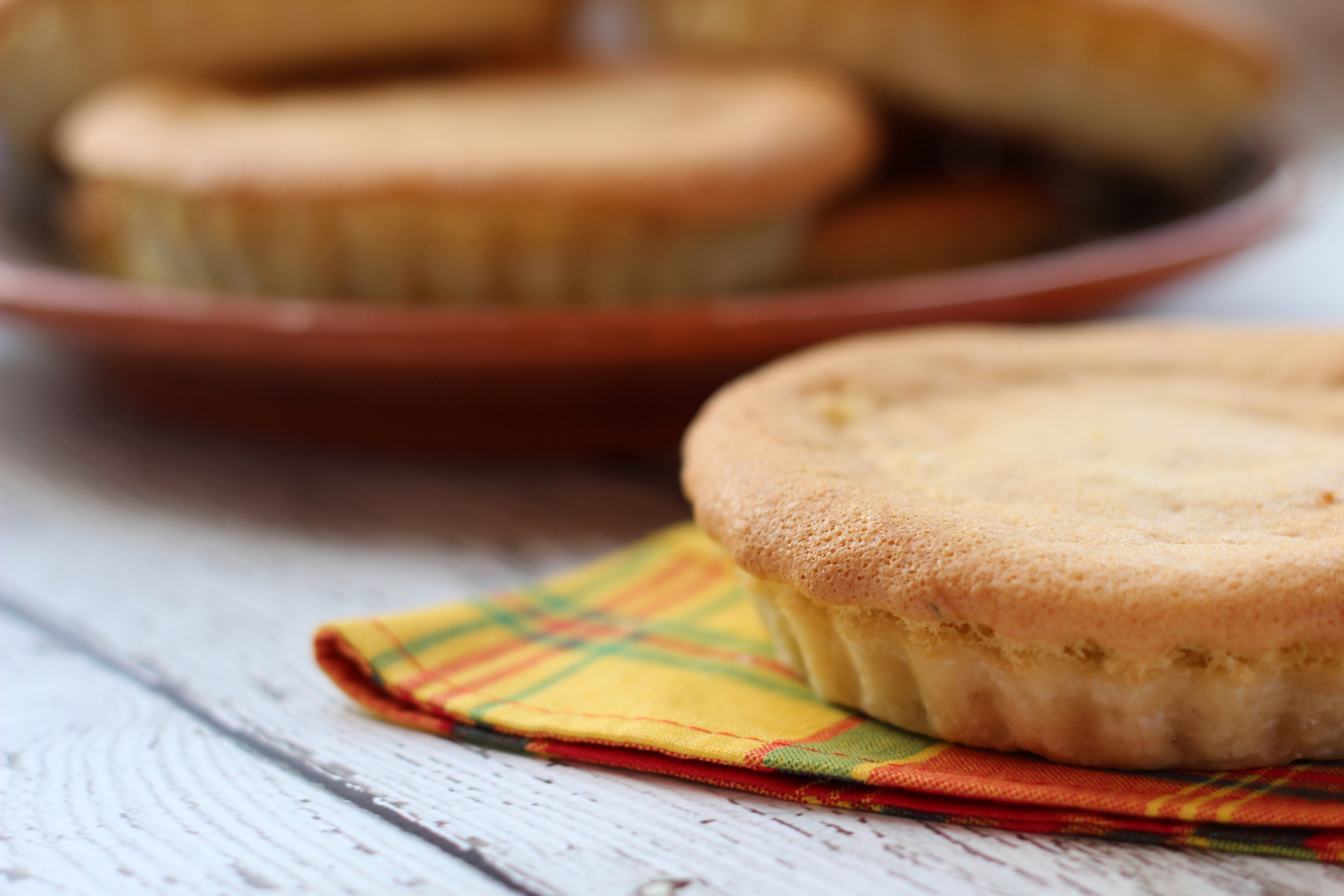 """Tourment d'amour, a tart-like cake from Guadeloupe that translates into the """"agony of love."""""""