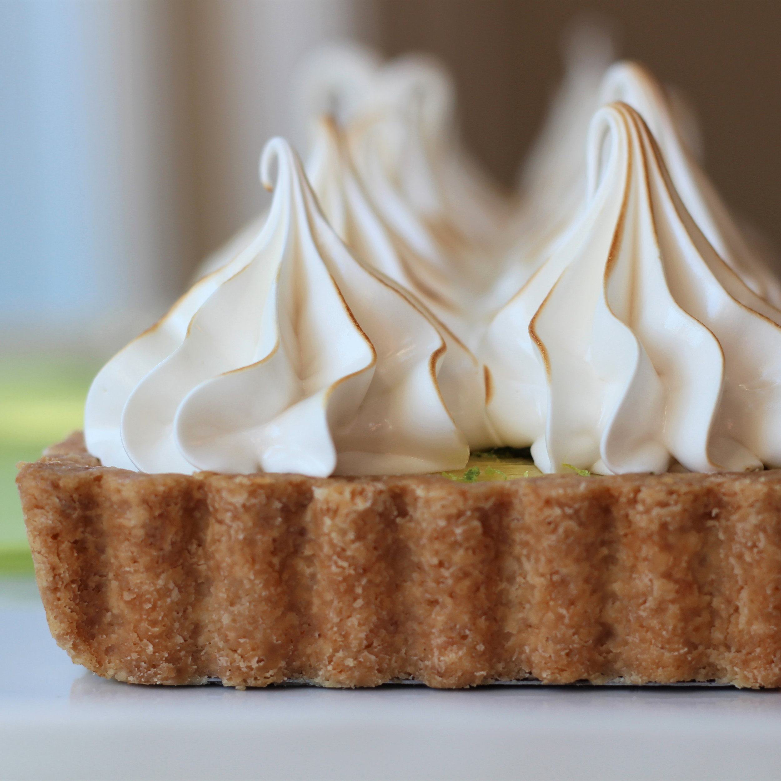 I put the lime in the coconut tart