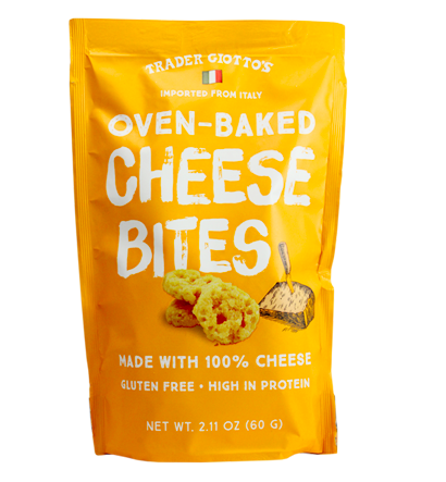 Oven Baked Cheese Bites - Protein packed and low-carb these are a great option for a quick snack, or topping to any meals.P.S- The ONLY ingredient is cheese!