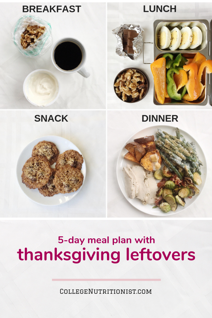 Meal ideas with Thanksgiving leftovers