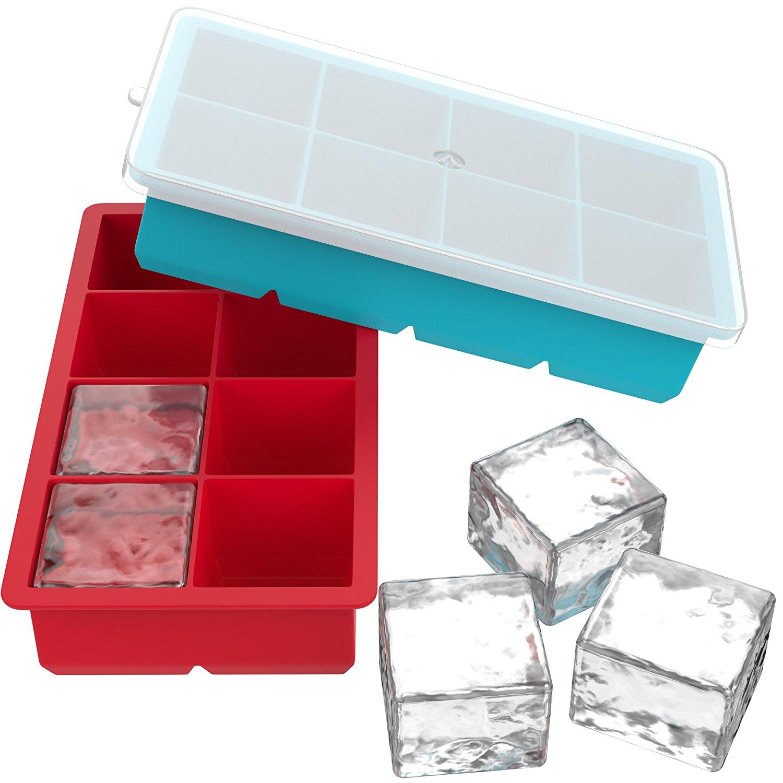 Ice cube trays cube shaped