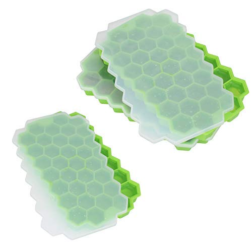 Hexagon ice cube trays