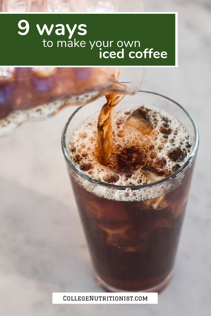 9 Easy Ways to Make Your Own Iced Coffee