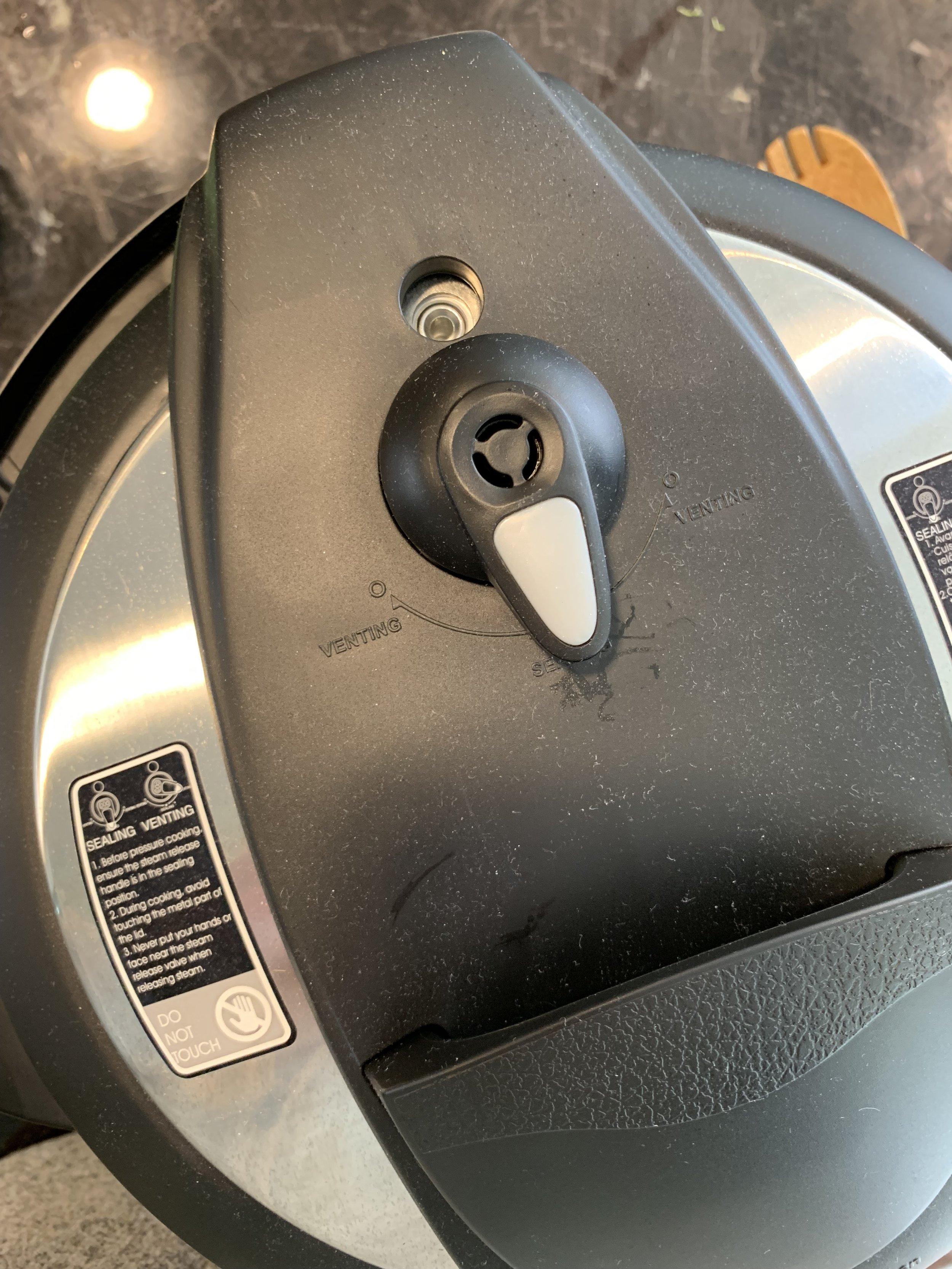 Instant Pot Knob Sealing