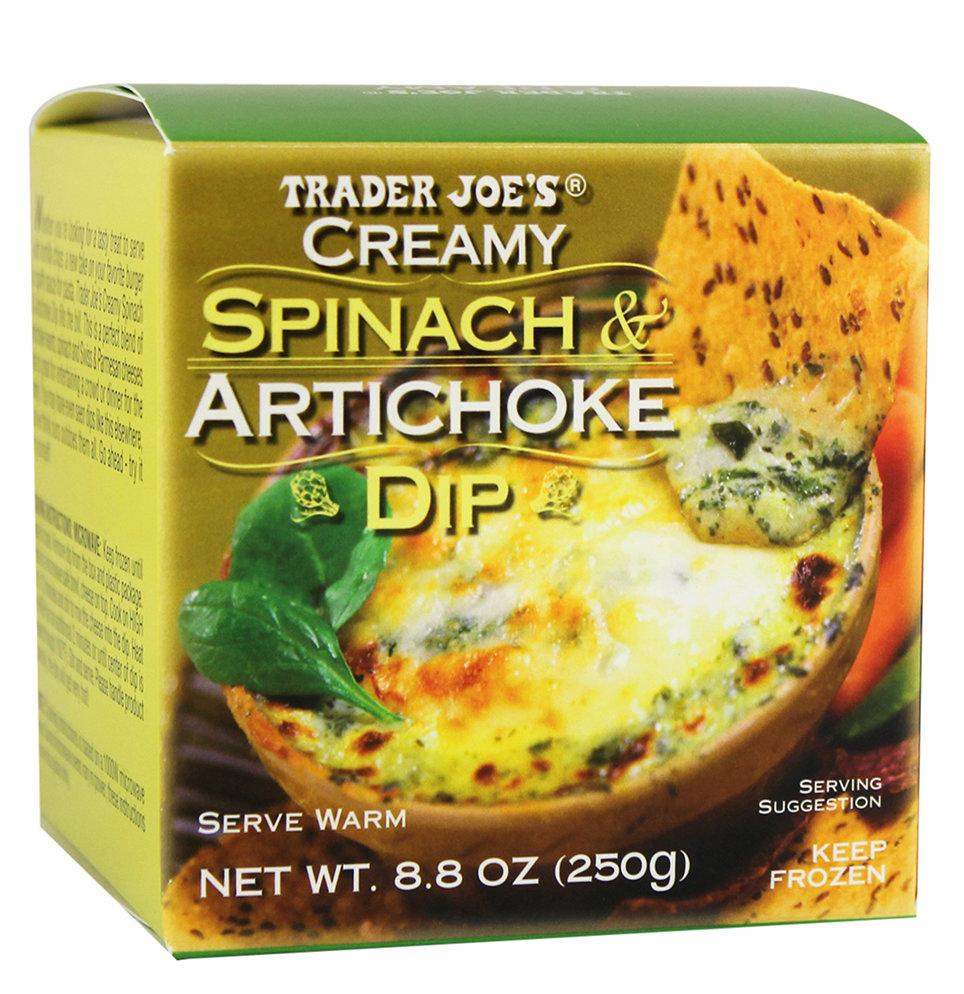 trader joe's spinach artichoke dip