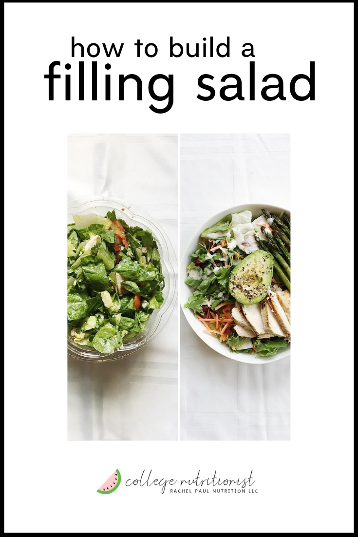 weight-loss: how to make filling salad