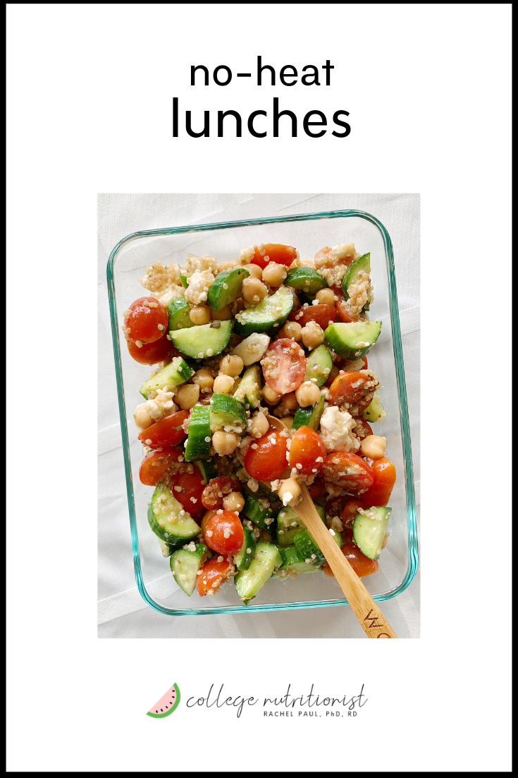 healthy 5 minute lunch recipes