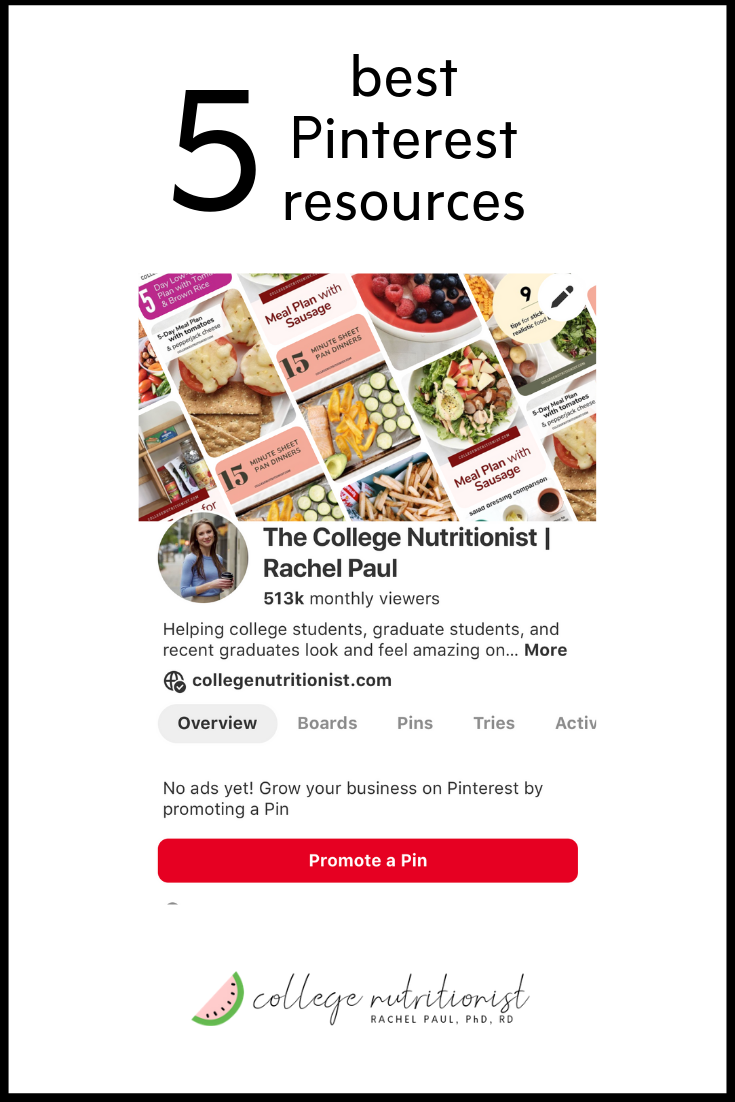 college nutritionist Pinterset resources.png