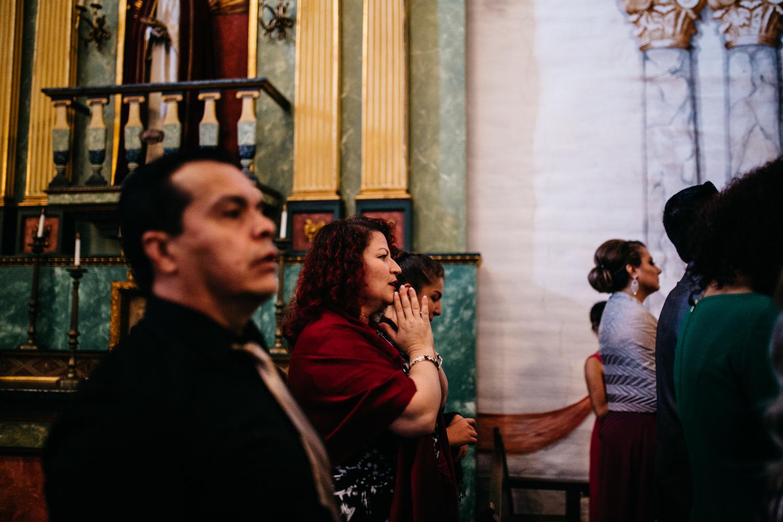 Mission San Jose Church Wedding