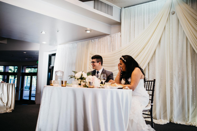 Canyon View Banquet Hall Wedding Reception