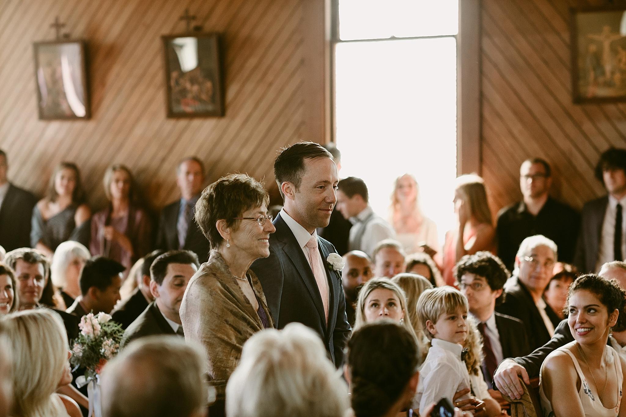old st. hilary's church wedding