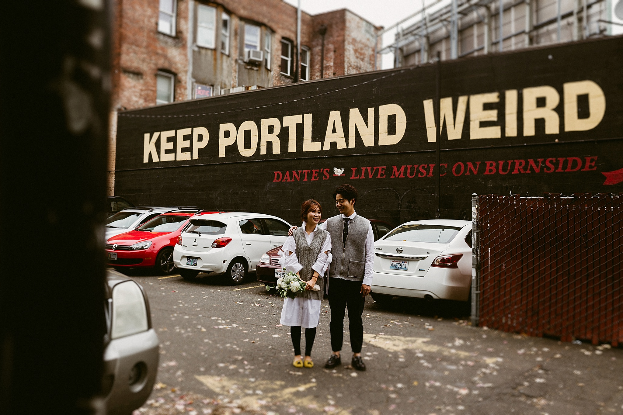 Downtown Portland Engagement Session - The Allens Photography