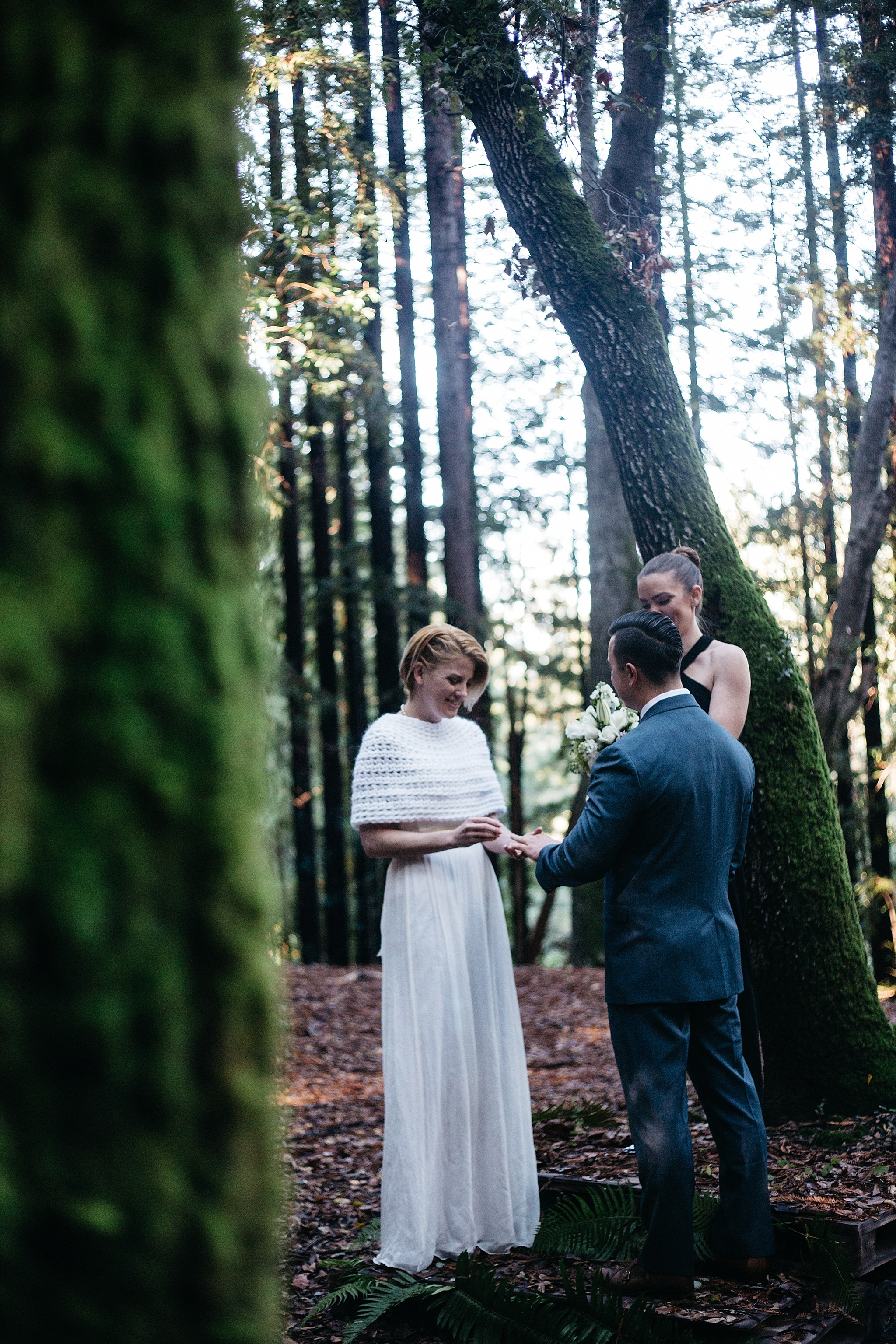 sf bay area intimate wedding photographer