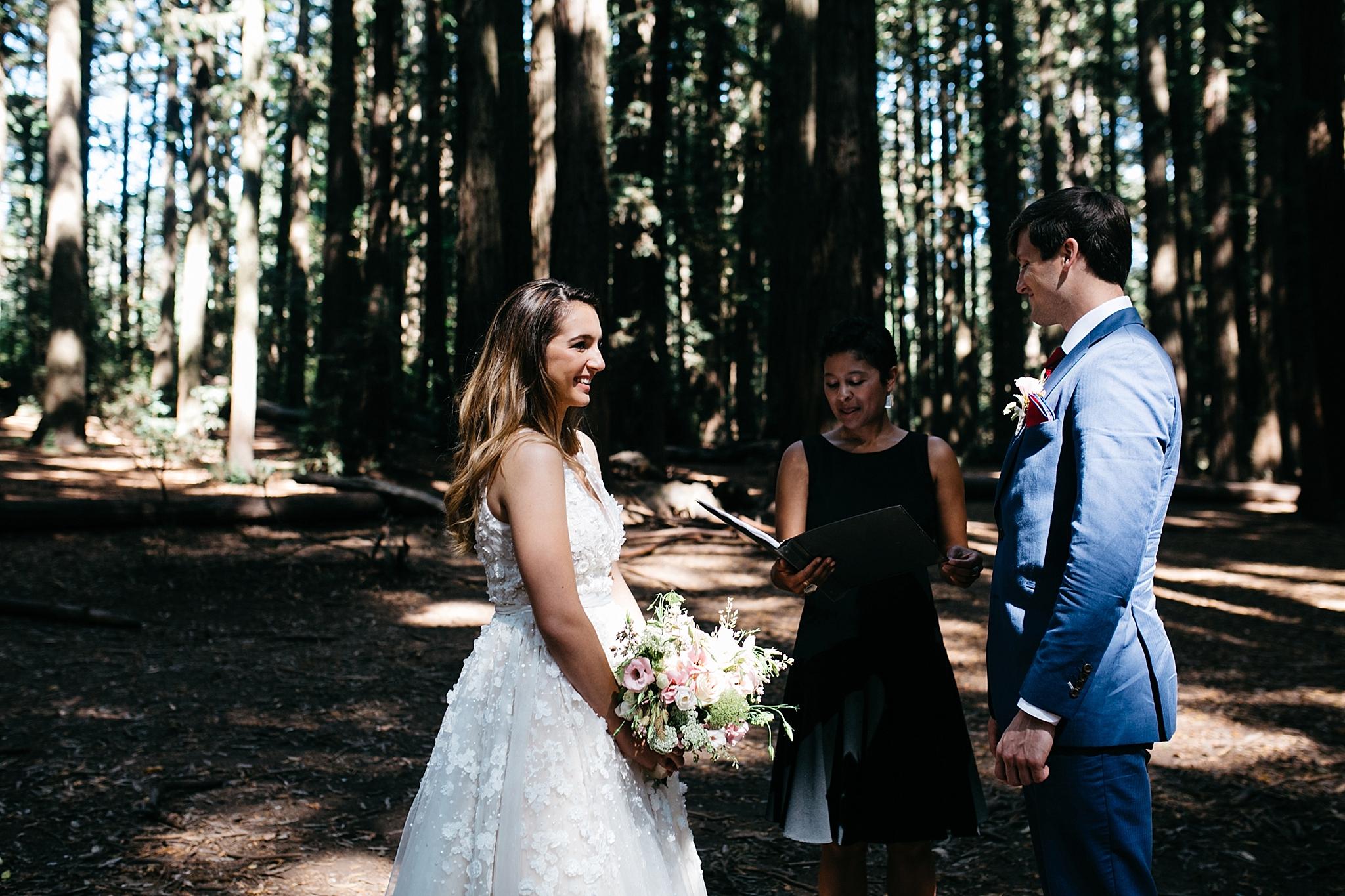 Redwoods elopement // muir woods elopement photographer