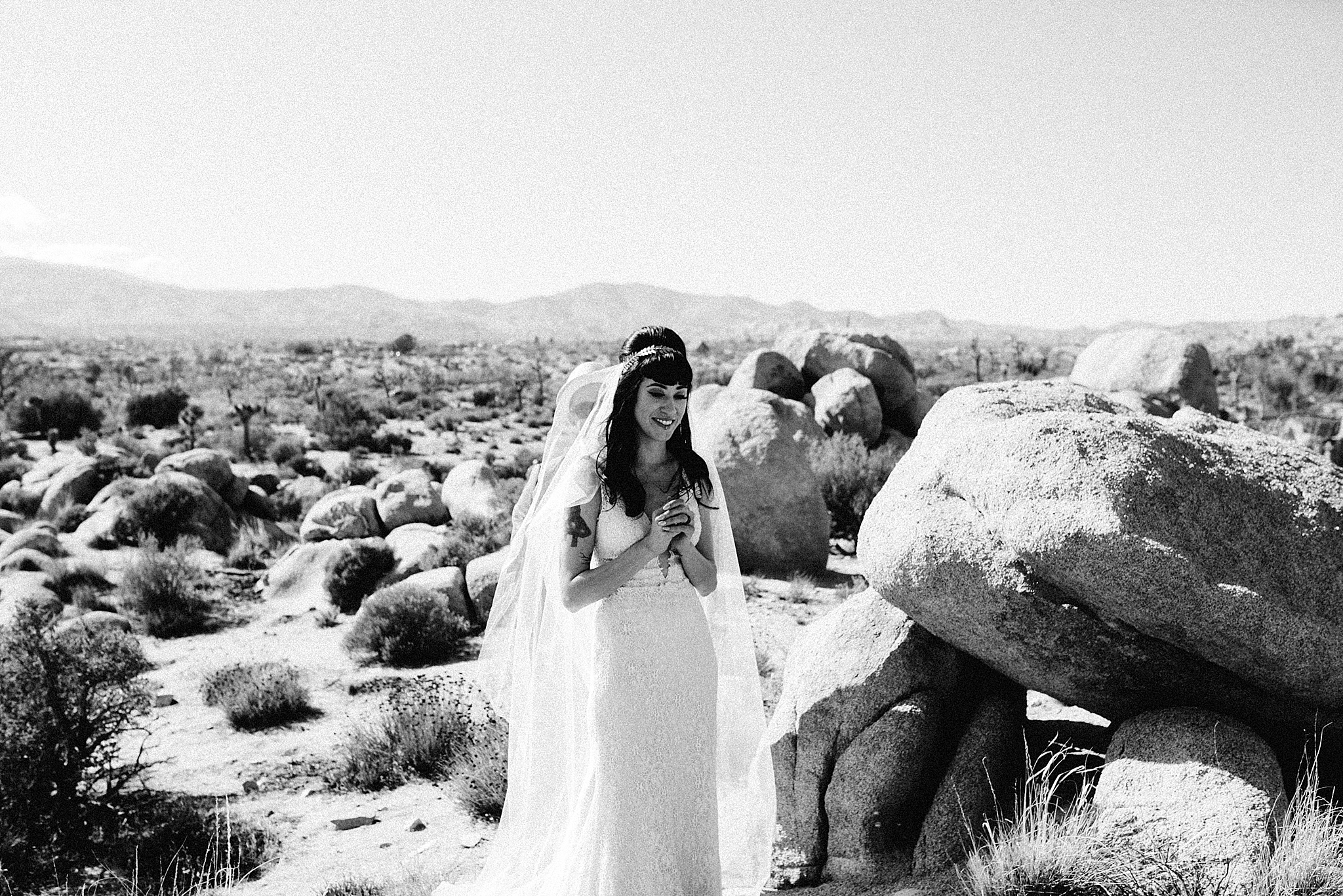 california desert wedding // joshua tree wedding photographer // Palm Springs wedding photographer