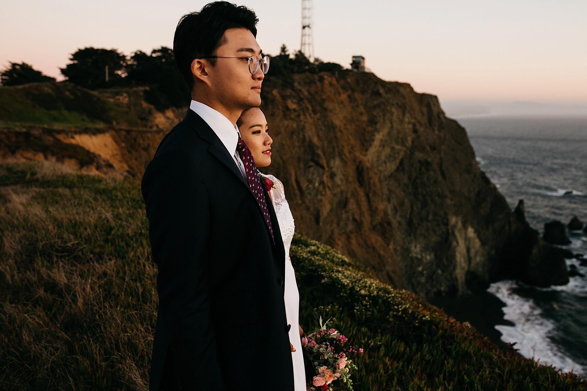marin headlands elopement // San Francisco Bay Area elopement photographers