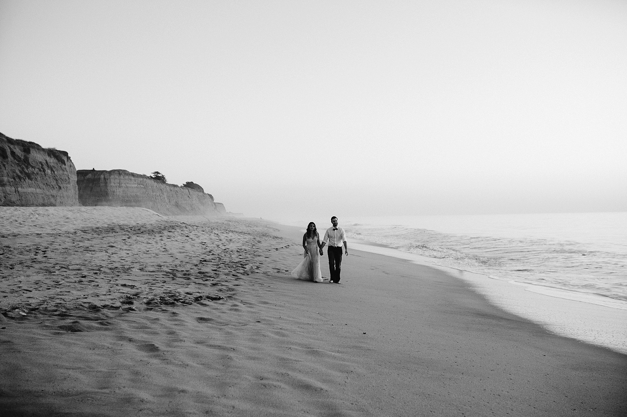 Halfmoon bay engagement photo // San Francisco Bay Area wedding photographers // Northern California wedding photographers