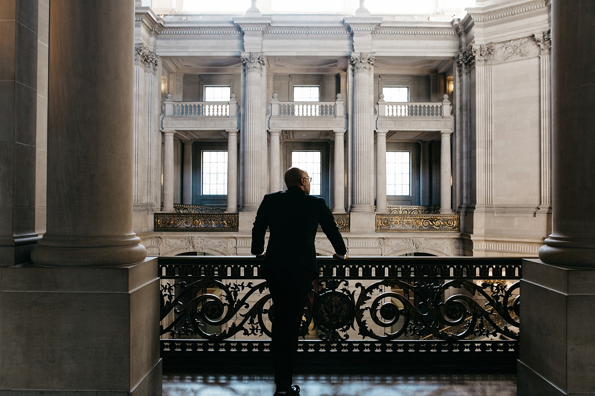 San Francisco city hall elopement // sf city hall elopement photographer // San Francisco city hall photographer // sf elopement photographer