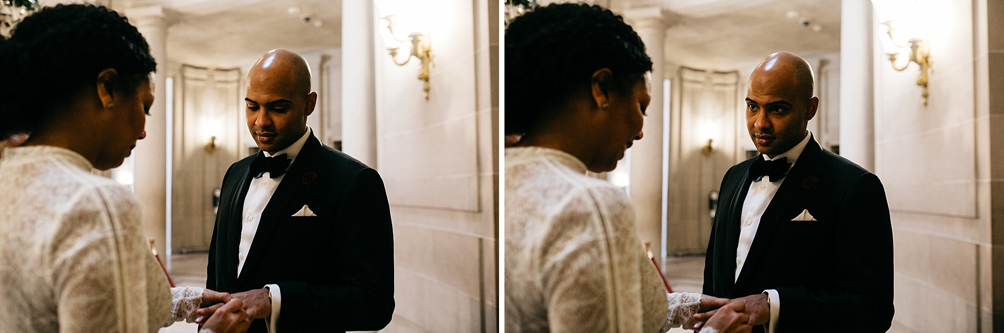 sf city hall elopement // San Francisco city hall wedding photographer // sf city hall elopement photographer