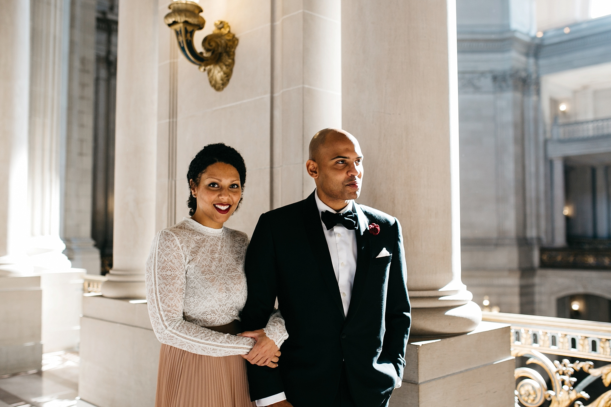 sf city hall elopement // San Francisco city hall wedding photographer // sf city hall elopement photographer // sf city hall wedding // sf elopement photographer