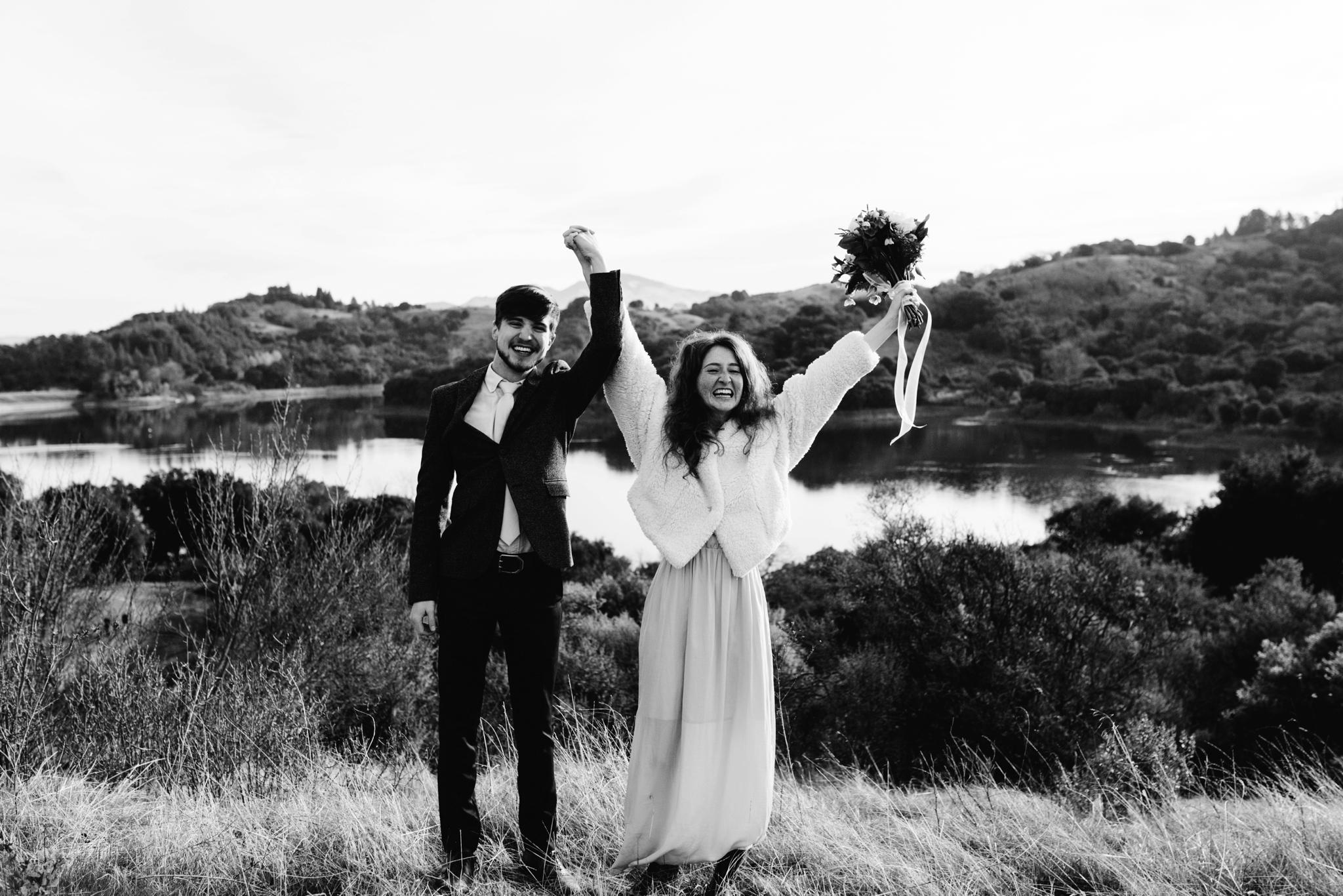 Lafayette Reservoir Elopement // Lafayette Reservoir wedding // Bay Area wedding photographer // San Francisco wedding photographer // sf Bay Area elopement photographer // destination elopement photographer // destination wedding photographer // Northern California wedding photographer