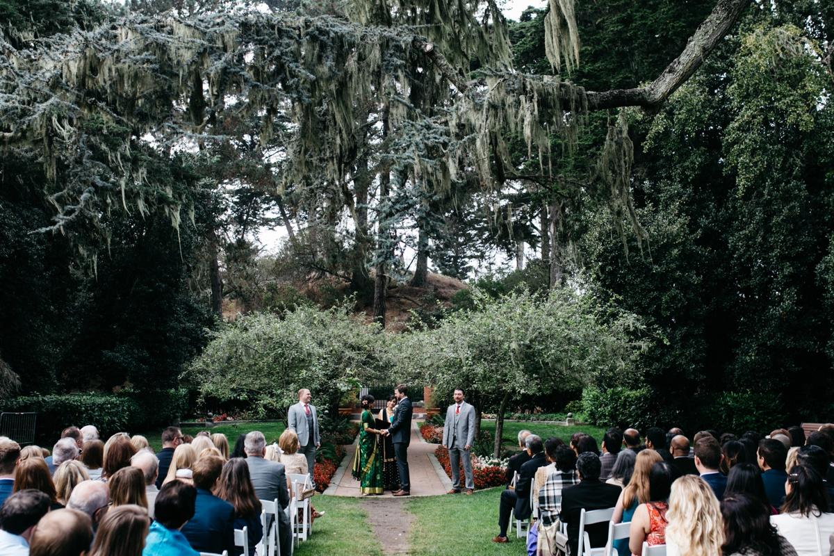 Shakespeare Garden Wedding, Tank 18 Wedding, Golden gate park wedding, San Francisco wedding photographer, Bay Area wedding photographer, SF elopement wedding photographer, Indian wedding photographer