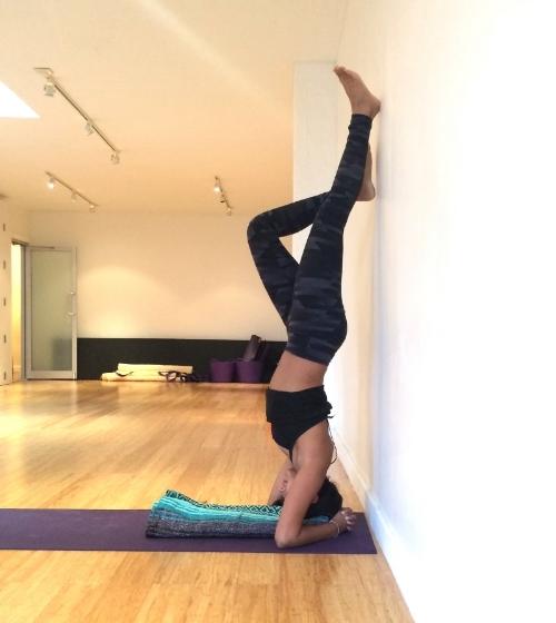 Sirsasana at Align Yoga