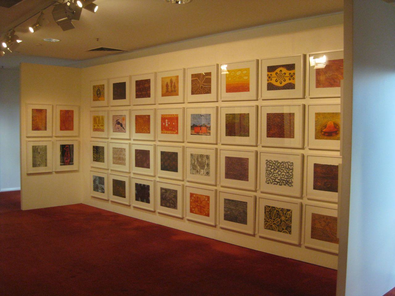 Desert Mob Folio Box, 40 woodcuts. Edition 7/10 $6,600 (unframed in presentation box)