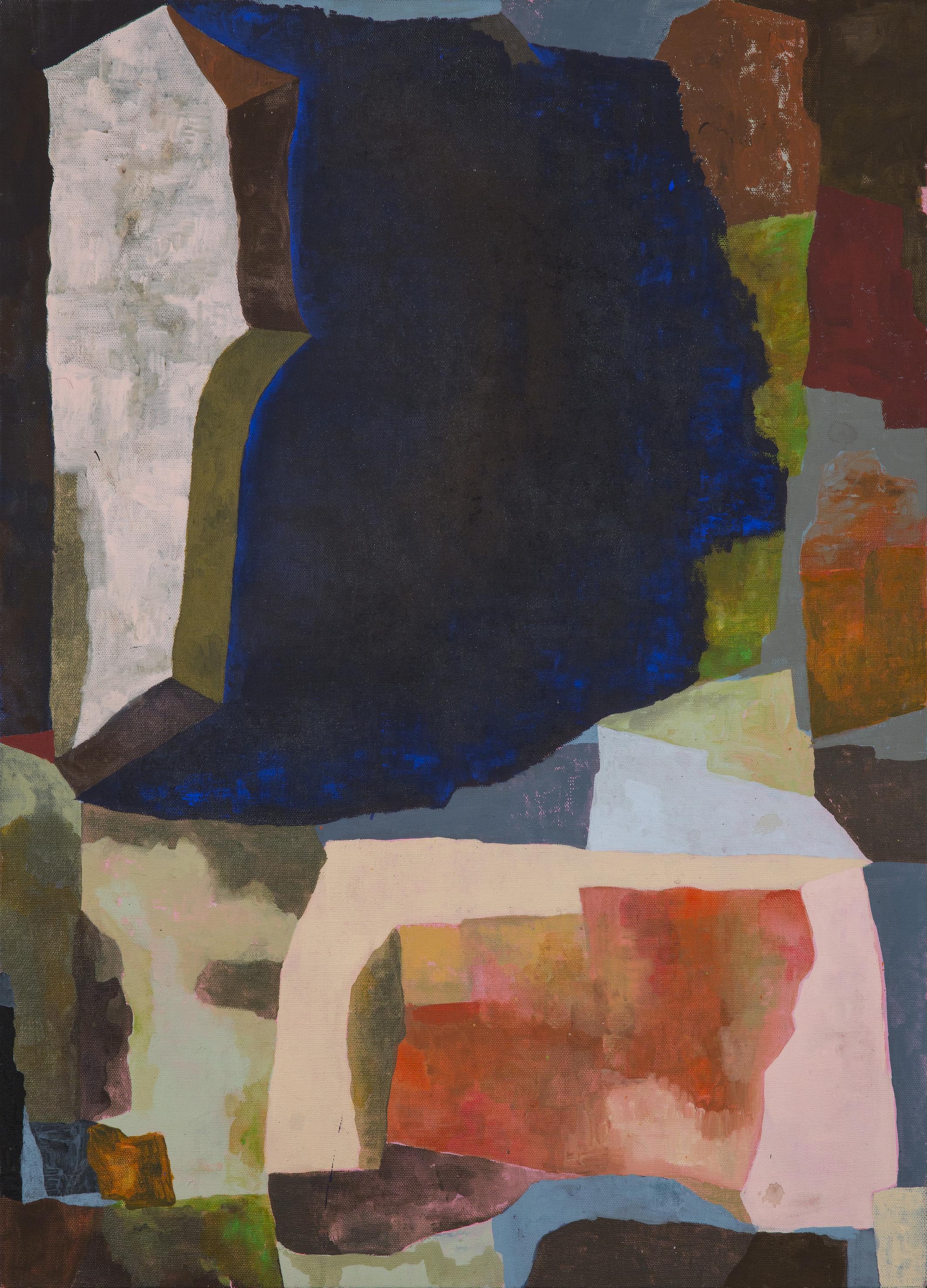 After Gauguin, Mineral II. 2014.
