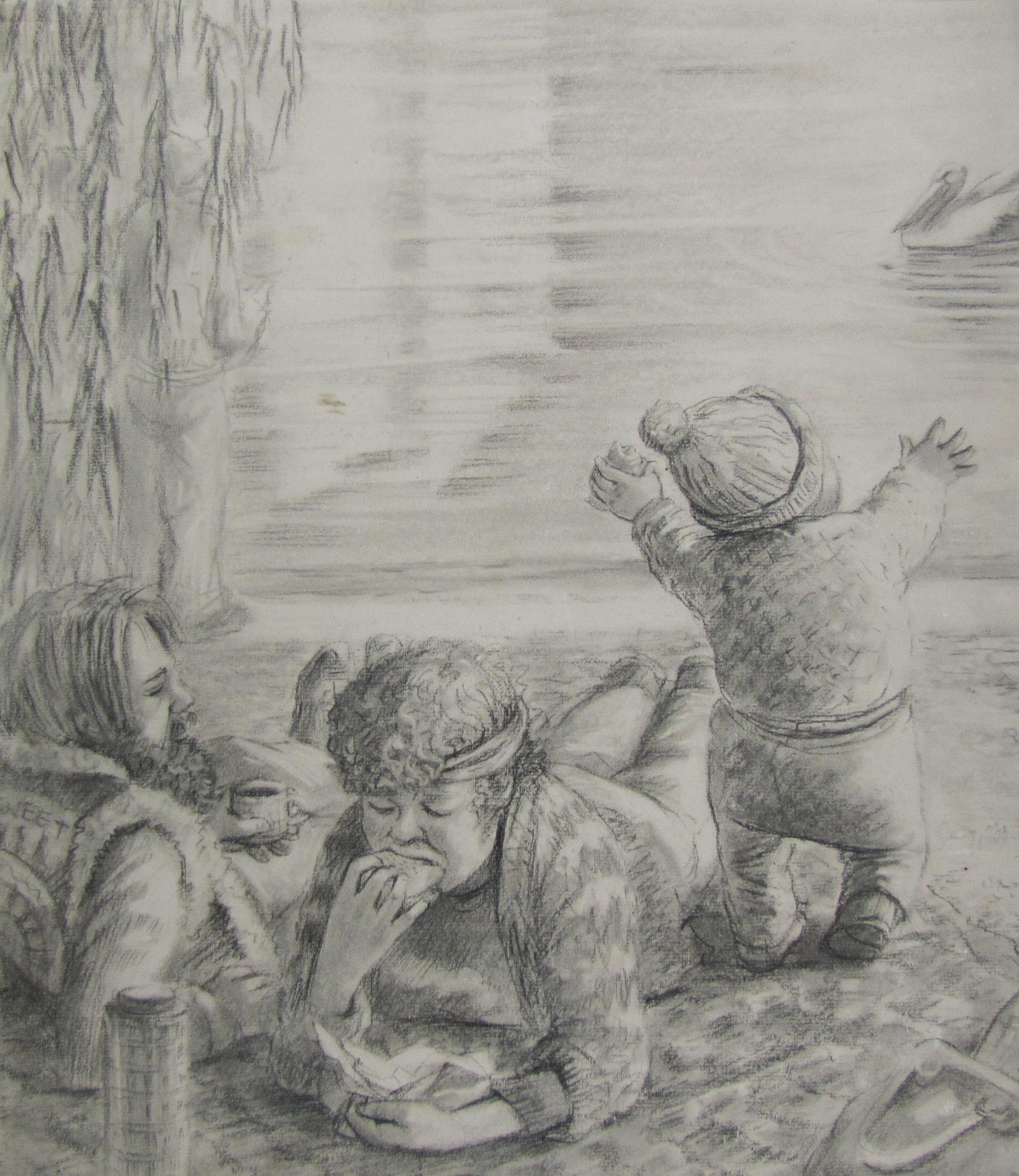 pencil sketch  $800