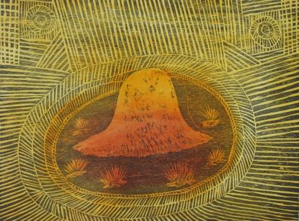 Herman Whiskey Tjungarrayi, Ikuntji Artists, Haasts Bluff
