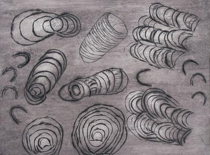 Roshana & Molly, Tjanpi desert weavers
