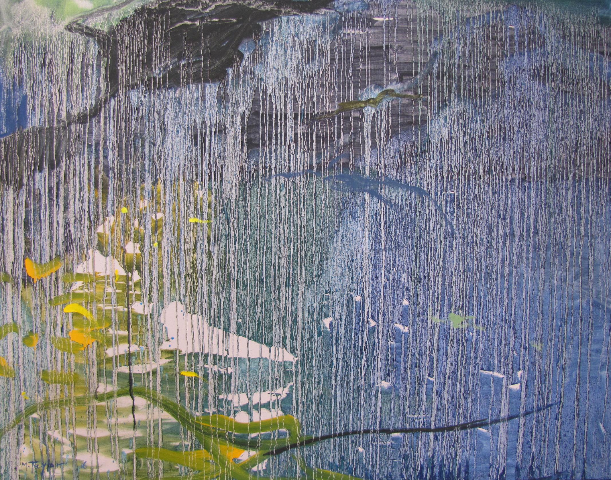 Landscape under rain.  2016