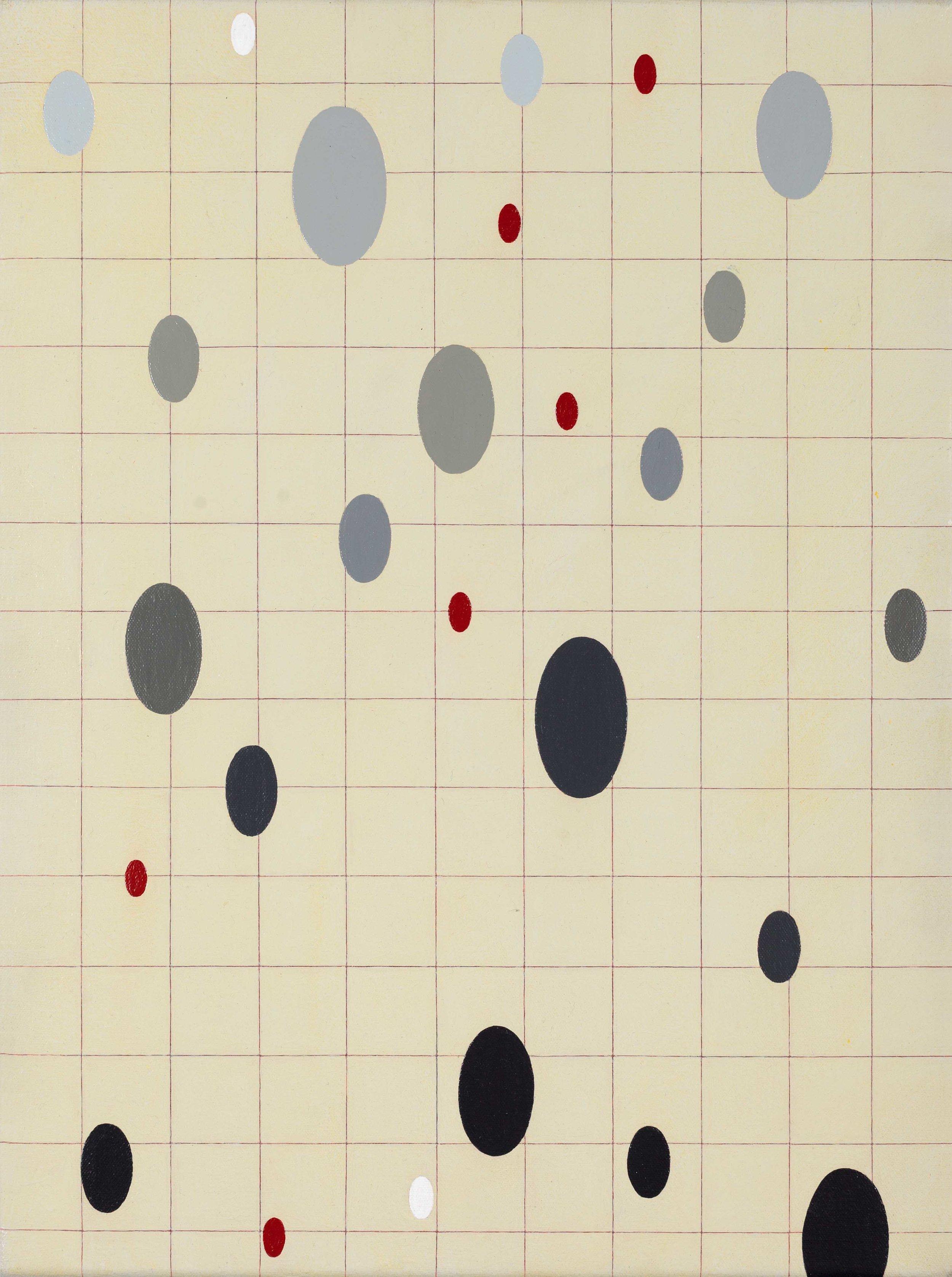 Fading, 2012. acrylic on canvas, 41 x 30cm, $2,310.