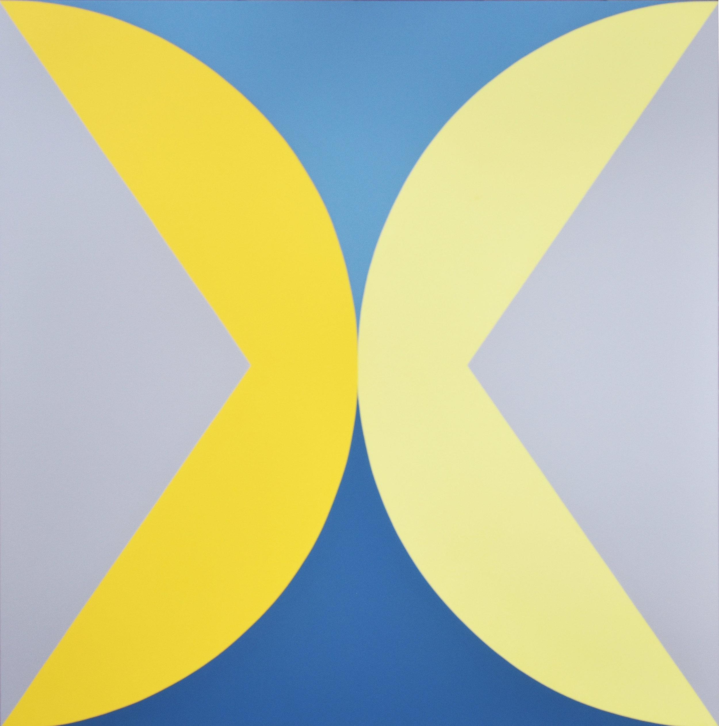 Untitled 1. 2018. Acrylic on canvas. 137 x 137 cm $3,700