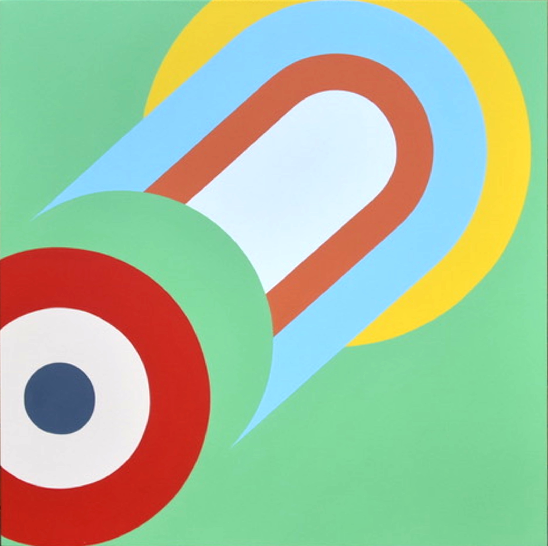 Untitled 8. 2018. Acrylic on canvas. 101.5 x 101.5 cm $2800