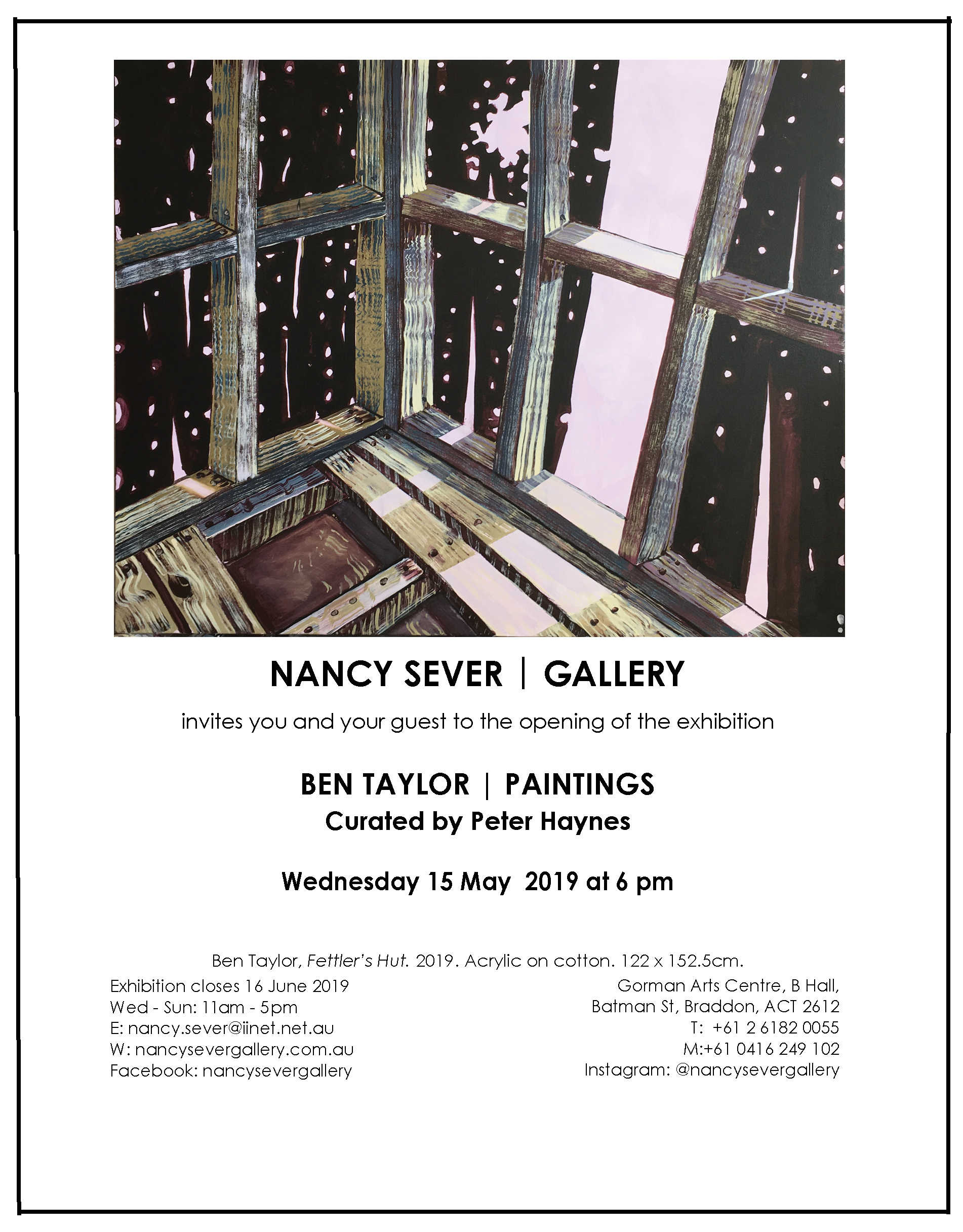 NSG.Ben Taylor exhibition email invitation.jpg