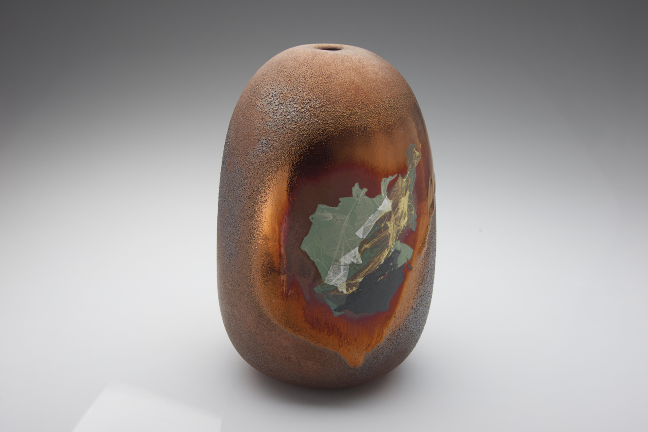 21. Parched Earth series, 220 mm H x 140 mm .D $680 SOLD