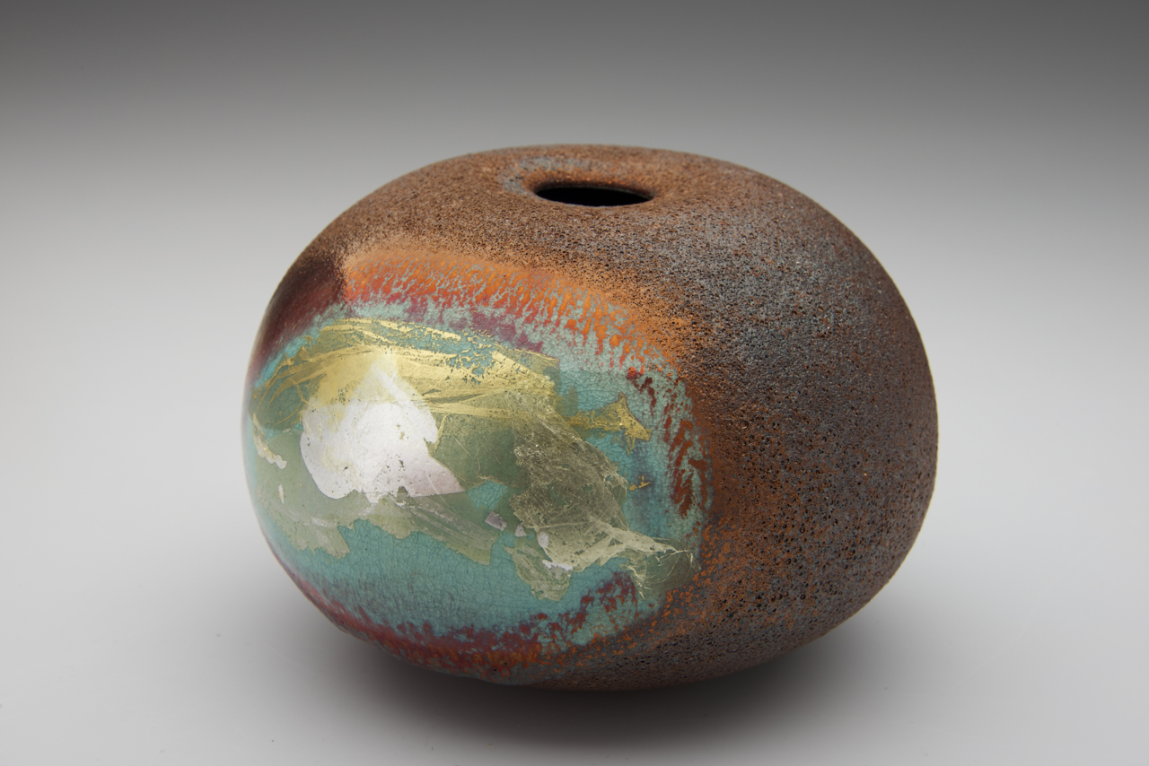 23. Parched Earth series, 95 mm H x 140 mm D. $360 SOLD