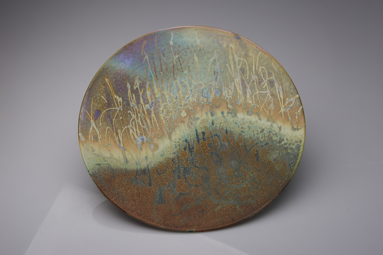 51. Grasses at End of the Day, 45 mm depth x 350 mm D. $620