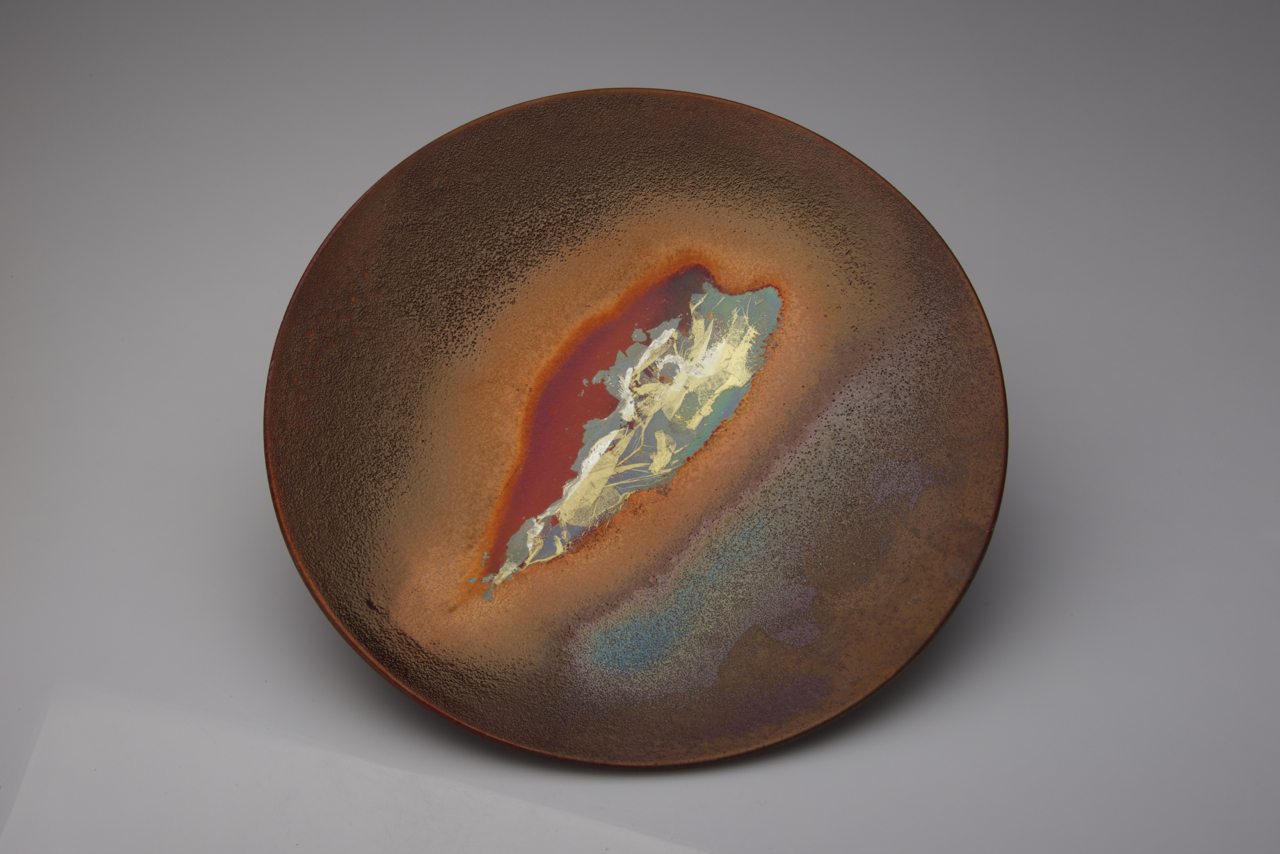 56. Parched Earth series, 40 mm depth x 300 mm D. $400