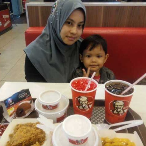 Breaking fast with KFC