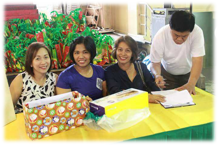 Gifts are exchanged among co-workers as well as family.png